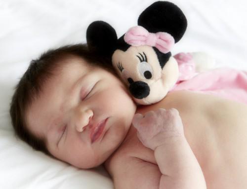 Baby met Mickey